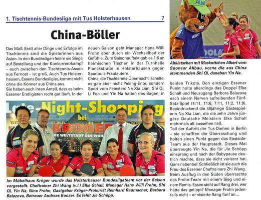 Sport in Essen, Ausgabe 07 - Okt./Nov. 2011.