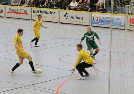 Gruppenspiel der Finalrunde: TuS - ESC Rellinghausen 06  5:2 (Foto: r.f.)