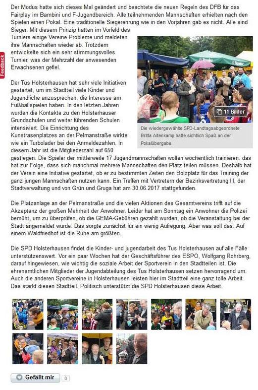 Quelle: Lokalkompass.de, Juli 2017.