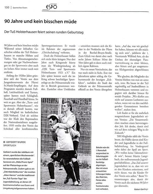 ESPO: Sportschau Essen 2011.