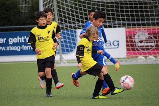 TuS E2-Jugend im Heimspiel gegen die E2 des FC Stoppenberg. - Foto: a.k.