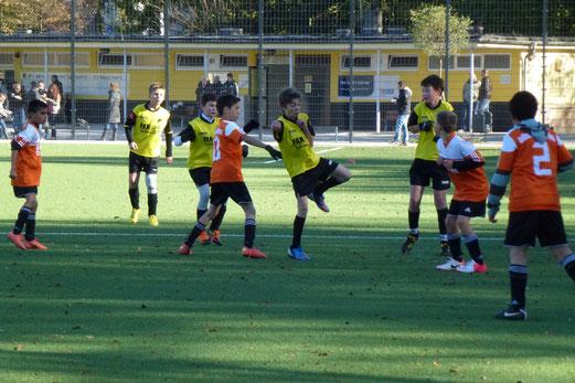 27.10.2012: D-Jugend - Ballfreunde Bergeborbeck D2 (Foto: mal).