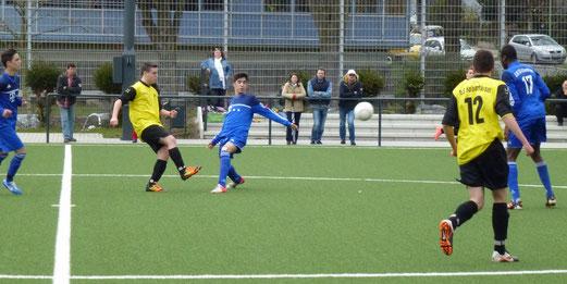 Heimerfolg für die TuS B-Jugend gegen SG Altenessen (Foto: mal).