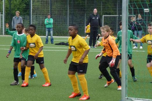 TuS E2-Jugend - DJK Eintracht Borbeck E2 (3:7), Pelmanstraße, 17.05.2014. - (Foto: mal).