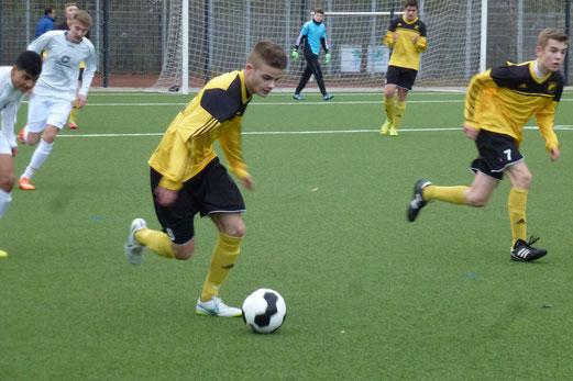 Auch kein Glück: B1-Jugend im Heimspiel gegen SG Schönebeck. - Foto: mal.