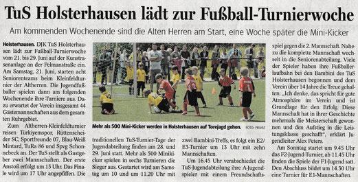 WAZ / NRZ - 19.06.2014. - Anklicken zum Vergrößern!