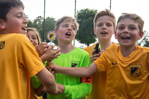 Turniersieger TuS E1-Jugend. - Foto: r.f.