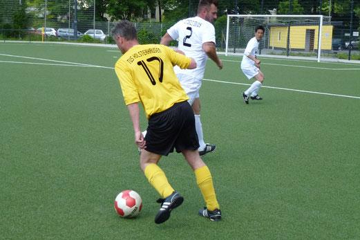 Erste Niederlage nach sechs Monaten: TuS Alte Herren 1 gegen SpVgg. Steele 03/09. - (Foto: mal).