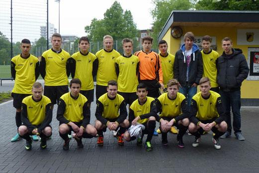 TuS B-Jugend Saison 2012/13: mit Platz 7 den Klassenerhalt gesichert (Foto: mal).