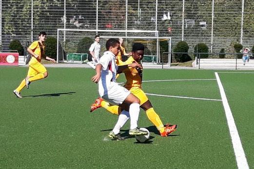 TuS B-Jugend im Heimspiel gegen den TuSEM. - Foto: lua.