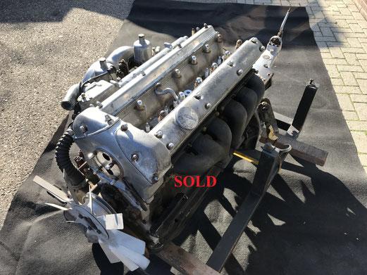 Jaguar XK150 3.4 motor + bak SOLD