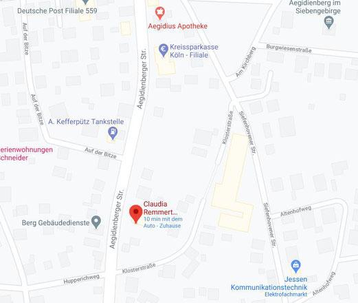 Hier Klicken für eine Anfahrtsbeschreibung und Karte in Google Maps