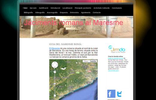 Jaciements romans al Maresme