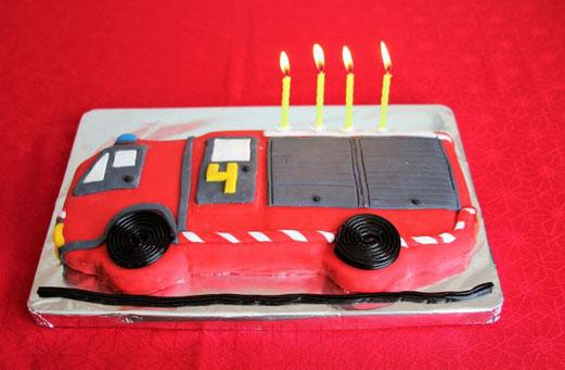 4 ans : les pompiers sont à l´honneur