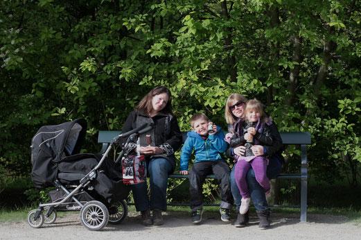 dans le parc de Frederiksberg