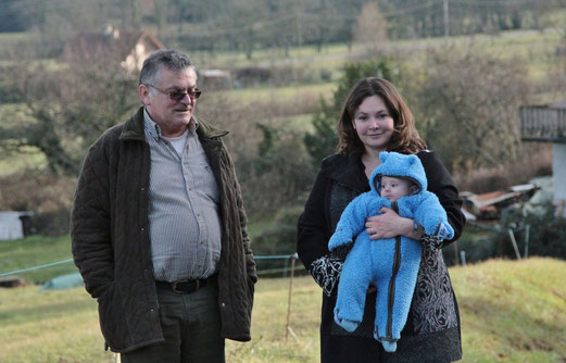 décembre 2013 : Victor rencontre son grand-père