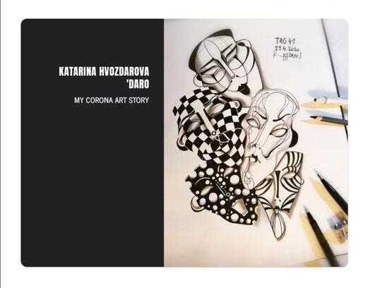 MY CORONA ART DIARY 2020 / ARTBOOK