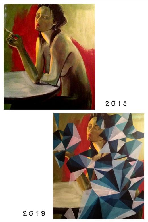GROW II. 2015/2019 80x60 cm acryl 11.11.2019