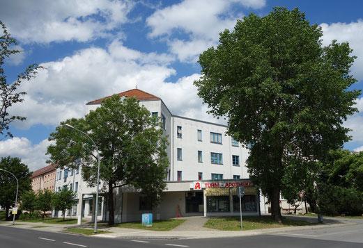 Ärztehaus, Am Frankfurter Tor 1, Seelow