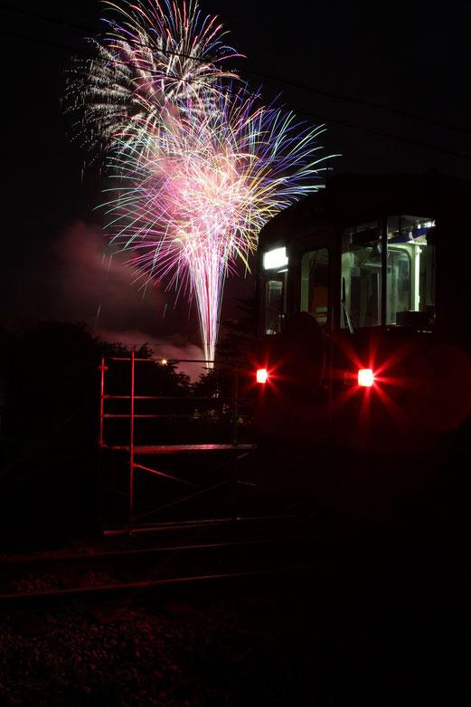 「花火列車」2013年