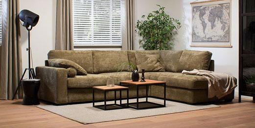 Loungebank Logan  vanaf 2495.- voor: € 1395.-