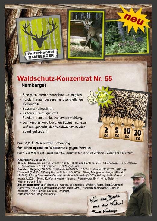 Futter: Waldschutzfutter Nr. 50