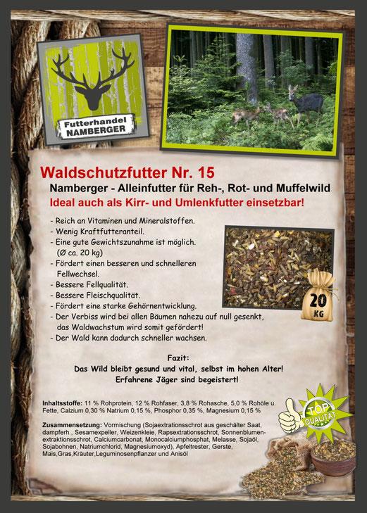Futter: Waldschutzfutter Nr. 15