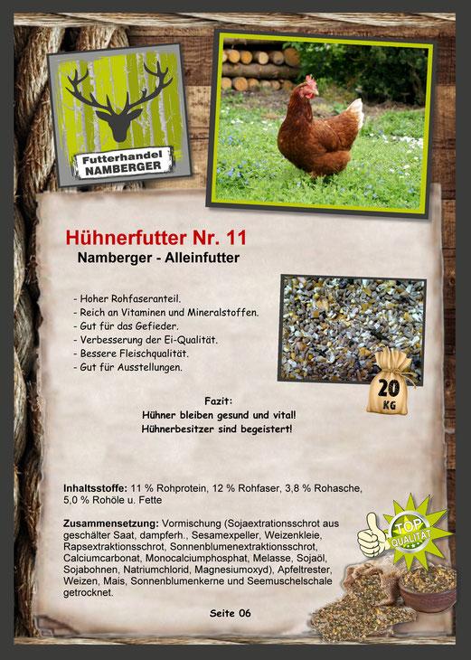 Futter: Hühnerfutter Nr. 11