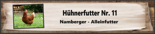 Hühnerfutter Nr. 11