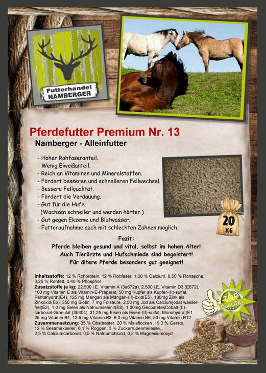 Futter: Pferdefutter Nr. 13