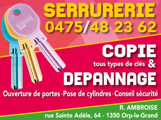 serrurerie, clé, copie, dépannage, Ambpub, Cap Moto