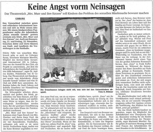 Quelle: Coburger Tageblatt vom 20.11.2002