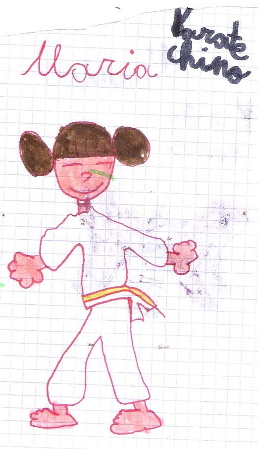 Maria 6 años, Febrero 2016