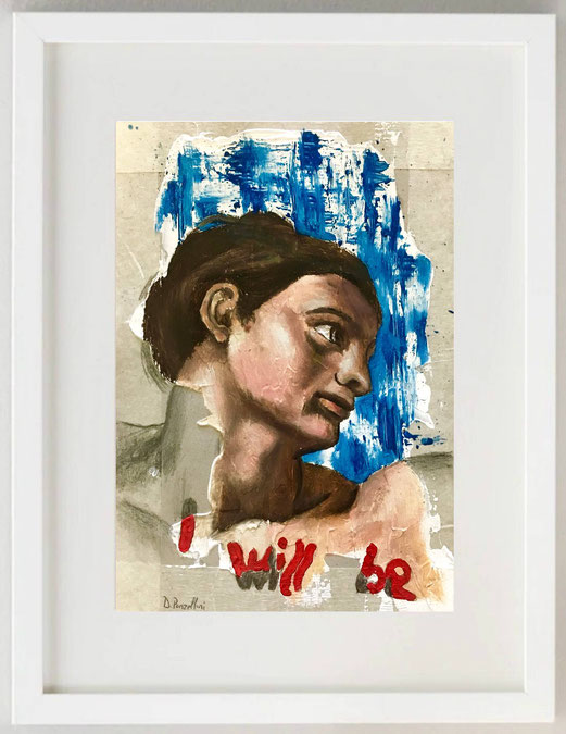 "28 /  YASMINA BARBET, ""THE SECRET"", 2018, Foto Digital Art, 20 x 30 cm."