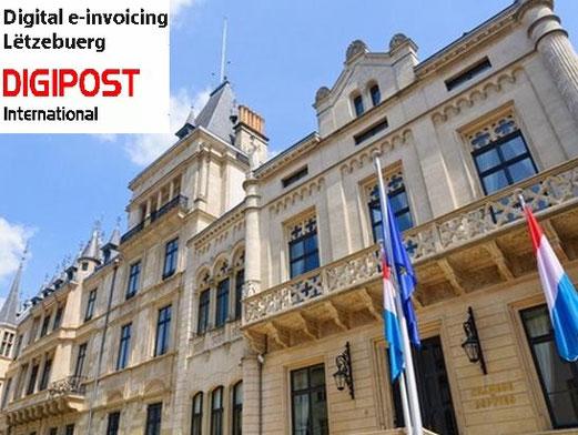 DIGIPOST International Luxembourg mentions légales obligatoires loi factures facturation