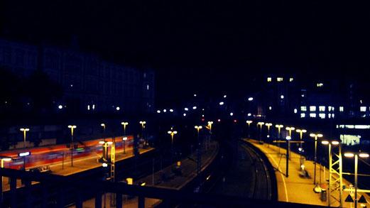Samstag: HH Hauptbahnhof @Night