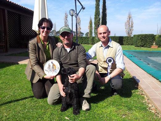 Francini's Simply The Best con il conduttore C. Marcellino, il giudice B. Garofalo e il Presidente M. Pasquali