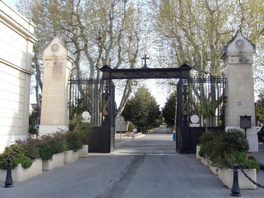 Entrance to St. Pierre Cemetery