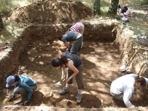Proceso de excavación