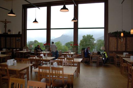 Panoramablick auf dem Obersalzberg.