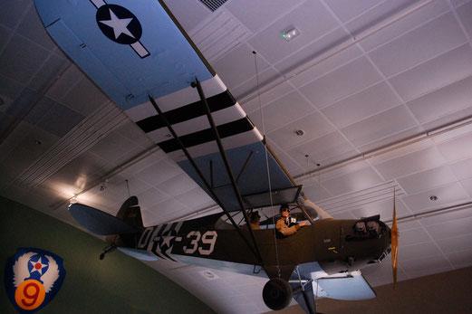 Ranger Museum St. Mere Eglise: Aufklärungsflugzeug.