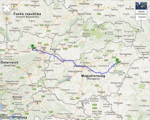 4. Tag: Von der Puszta nach St. Pölten