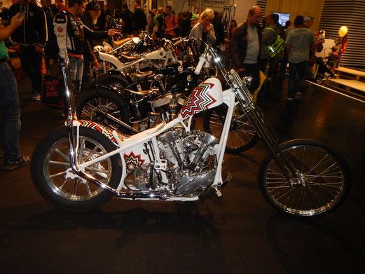 Auf der Intermot gibt es mittlerweile eine eigene Halle für Custom Bikes.