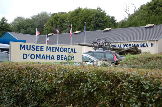 D-Day Museum am Omaha Beach.