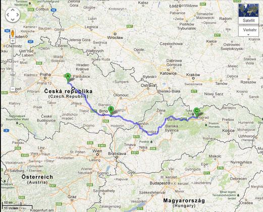 Tag 2: Von Kutna Hora in die Hohe Tatra