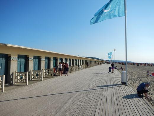 Deauville Strandpromenade