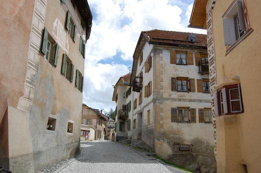 Schöne Dörfer in Italien.