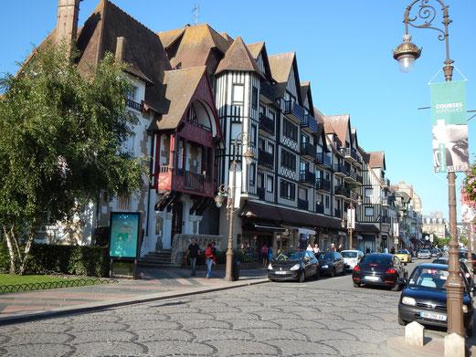 Deauville hat sich seit den 1940er Jahren kaum verändert.