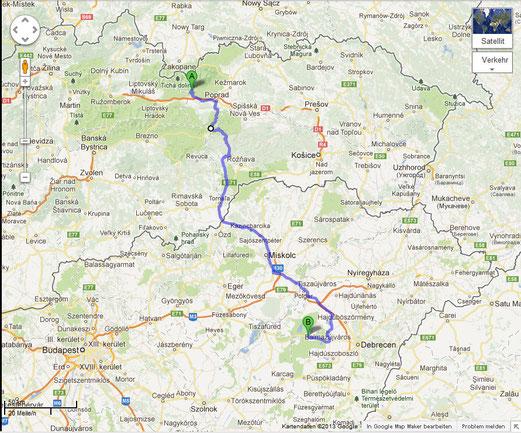Tag 3: Von der Hohen Tatra in die Puszta