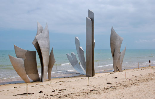 Denkmal am Omaha Beach.